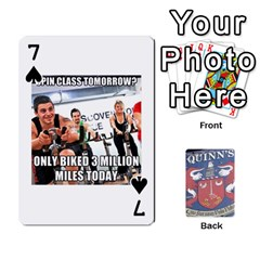 Cards For Quinns By Will   Playing Cards 54 Designs   Ybw02uaft441   Www Artscow Com Front - Spade7