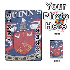 Cards For Quinns By Will   Playing Cards 54 Designs   Ybw02uaft441   Www Artscow Com Front - Joker1