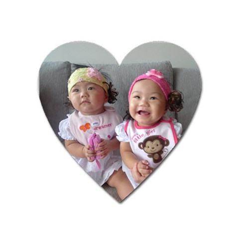Jq Jx Hearts Magnets By Susan Lem   Magnet (heart)   Shac0y0f0ysz   Www Artscow Com Front