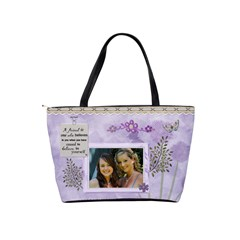 Best Friends Forever Classic Shoulder Handbag By Lil    Classic Shoulder Handbag   Lp8bbg7dnr0k   Www Artscow Com Back
