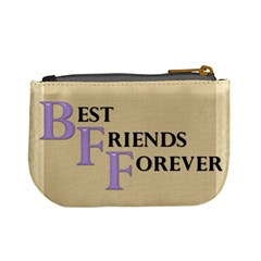 Best Friends Forever Mini Coin Purse By Lil    Mini Coin Purse   B1h87s6rynnx   Www Artscow Com Back