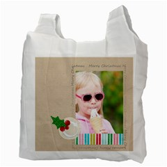 Christmas By Joely   Recycle Bag (two Side)   9ebc6cdjlsq8   Www Artscow Com Back