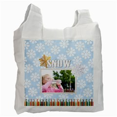 Christmas By Joely   Recycle Bag (two Side)   Hbx03tqdldf2   Www Artscow Com Front