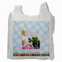 Christmas By Joely   Recycle Bag (two Side)   Hbx03tqdldf2   Www Artscow Com Back