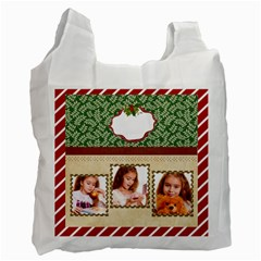 Christmas By Joely   Recycle Bag (two Side)   X613xkoger56   Www Artscow Com Front
