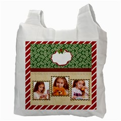 Christmas By Joely   Recycle Bag (two Side)   X613xkoger56   Www Artscow Com Back