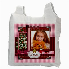 Christmas By Joely   Recycle Bag (two Side)   2m7spmkr74w2   Www Artscow Com Back