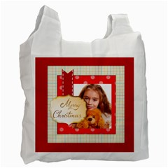 Christmas By Joely   Recycle Bag (two Side)   K71vehhbllgj   Www Artscow Com Front