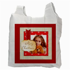 Christmas By Joely   Recycle Bag (two Side)   K71vehhbllgj   Www Artscow Com Back