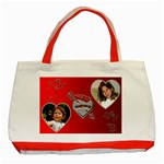 My Valentine Red Tote - Classic Tote Bag (Red)