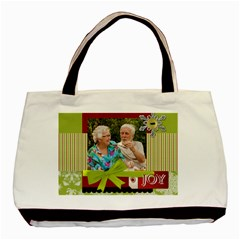 Christmas By Joely   Basic Tote Bag (two Sides)   H78fk3fibaou   Www Artscow Com Back