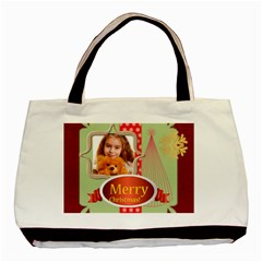 Christmas By Joely   Basic Tote Bag (two Sides)   2kpxjbflie7q   Www Artscow Com Front