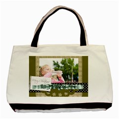 Christmas By Joely   Basic Tote Bag (two Sides)   Kcbwqe2cka69   Www Artscow Com Front
