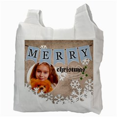 Christmas By Joely   Recycle Bag (two Side)   0yshw1d89ktg   Www Artscow Com Back