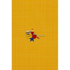 Notebook: Back To School2 By Jennyl   5 5  X 8 5  Notebook   Tojcnt57aey3   Www Artscow Com Back Cover
