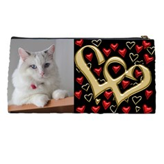 Hearts Pencil Case By Deborah   Pencil Case   Xdcr3or59tuh   Www Artscow Com Back