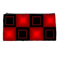 Black And Red Pencil Case By Deborah   Pencil Case   Im6a6yqg36si   Www Artscow Com Front