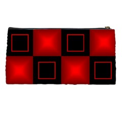 Black And Red Pencil Case By Deborah   Pencil Case   Im6a6yqg36si   Www Artscow Com Back