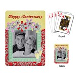 anniversary playing cards (single design) - Playing Cards Single Design