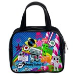 Sr13 Rainbow Collage Classic Handbag (Two Sides)