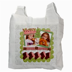 Christmas By Joely   Recycle Bag (two Side)   Ynn7am5cn04d   Www Artscow Com Back