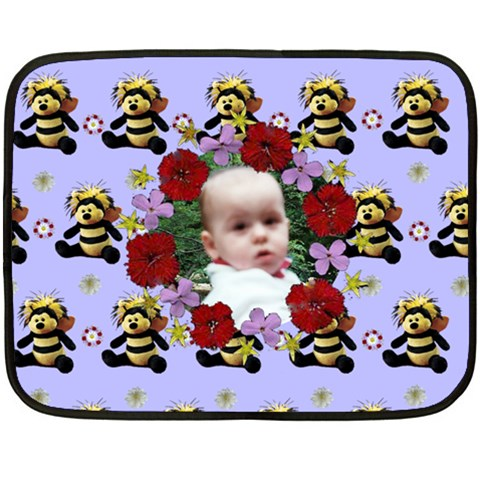 Baby Bee Blanket By Maryanne   Fleece Blanket (mini)   Gebbcot2yekx   Www Artscow Com 35 x27 Blanket