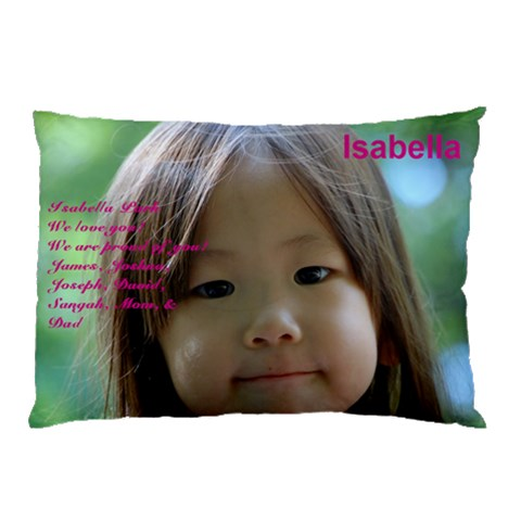 Isabella By Kunsoon Park   Pillow Case   Lkg7xwbs5l63   Www Artscow Com 26.62 x18.9 Pillow Case