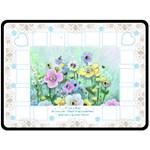 Flower Garden Blanket - Fleece Blanket (Large)
