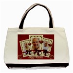Red Valentines triple frame bag - Basic Tote Bag (Two Sides)