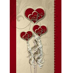 Valentines Card By Claire Mcallen   Greeting Card 5  X 7    Hzbomjrewq8t   Www Artscow Com Front Cover