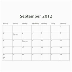Hermano X 2 By Fernando Velasco Perez   Wall Calendar 11  X 8 5  (12 Months)   4ox99gg00pdx   Www Artscow Com Sep 2012