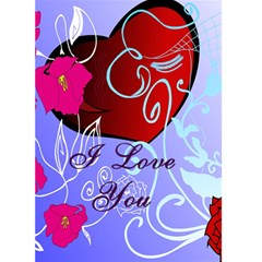 Valentine Card 1 By Kim Blair   Greeting Card 5  X 7    28wrglrmrcc0   Www Artscow Com Front Cover