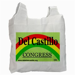Del Reusable Shopping Bag By Nicolette Giasolli   Recycle Bag (two Side)   Pqvf3641m39m   Www Artscow Com Front