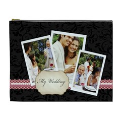Wedding By Joely   Cosmetic Bag (xl)   X4paceskcxou   Www Artscow Com Front