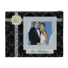 Wedding By Joely   Cosmetic Bag (xl)   6ampbq1bq1p3   Www Artscow Com Back