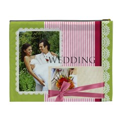 Wedding By Joely   Cosmetic Bag (xl)   7nxw9m8tx1l2   Www Artscow Com Back