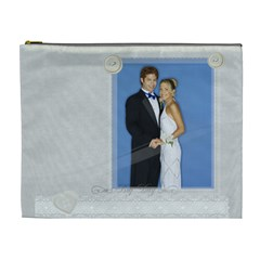 Wedding By Joely   Cosmetic Bag (xl)   4bgfswquv60u   Www Artscow Com Front
