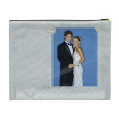 Wedding By Joely   Cosmetic Bag (xl)   4bgfswquv60u   Www Artscow Com Back
