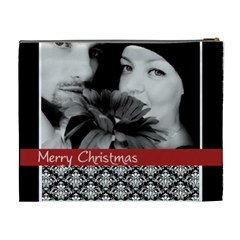 Xmas By May   Cosmetic Bag (xl)   0c4zpq7fkbts   Www Artscow Com Back