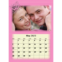 Our Love Calendar (any Year) By Deborah   Desktop Calendar 6  X 8 5    Gcg8mntloca7   Www Artscow Com May 2017