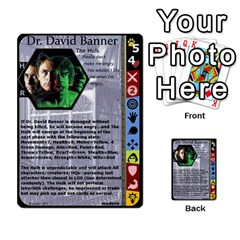 Duel Of Ages By Jeffrey Allen   Multi Purpose Cards (rectangle)   0tzz9k0pt27y   Www Artscow Com Front 54