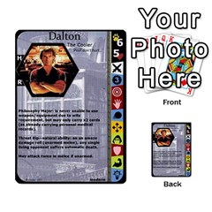 Duel Of Ages By Jeffrey Allen   Multi Purpose Cards (rectangle)   0tzz9k0pt27y   Www Artscow Com Front 34