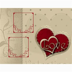 Large Wall  love  Calendar 2015 Red And Gold  By Claire Mcallen   Wall Calendar 11  X 8 5  (12 Months)   3xpqjirggr70   Www Artscow Com Month