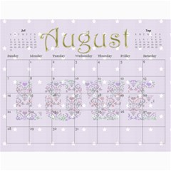 Large Wall  love  Calendar 2015 Red And Gold  By Claire Mcallen   Wall Calendar 11  X 8 5  (12 Months)   3xpqjirggr70   Www Artscow Com Aug 2015