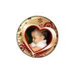 My Heart Hat Clip Ball Marker