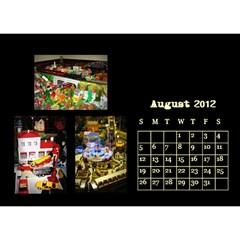 Train Calendar By Joshua Irvine   Desktop Calendar 8 5  X 6    59dk7q5f0hke   Www Artscow Com Aug 2012