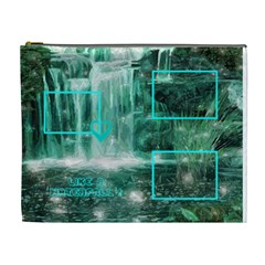 Waterfall Cosmetic Bag By Birkie   Cosmetic Bag (xl)   Fad9x9hounad   Www Artscow Com Front