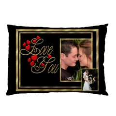 Love You (2 Sided) Pillow Case By Deborah   Pillow Case (two Sides)   Yexqs0ugyfc4   Www Artscow Com Front