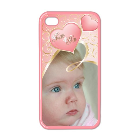 Love You Apple Iphone 4 Case (color) By Deborah   Apple Iphone 4 Case (color)   Jo9ci7t4wc09   Www Artscow Com Front