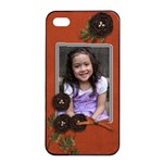 Apple iPhone 4/4s Seamless Case: Cherished Memories4 - Apple iPhone 4/4s Seamless Case (Black)